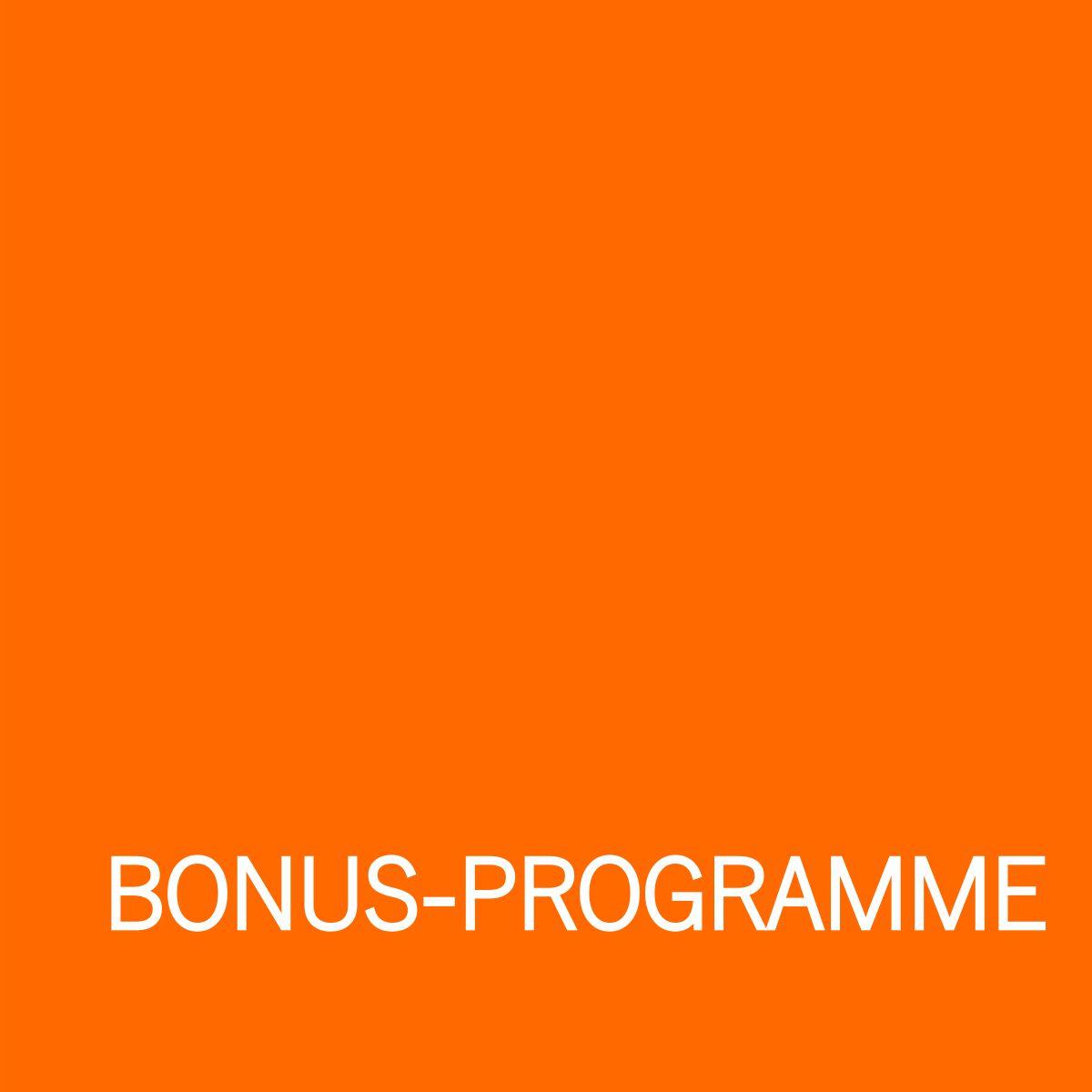 Grafik Bonus-Programme