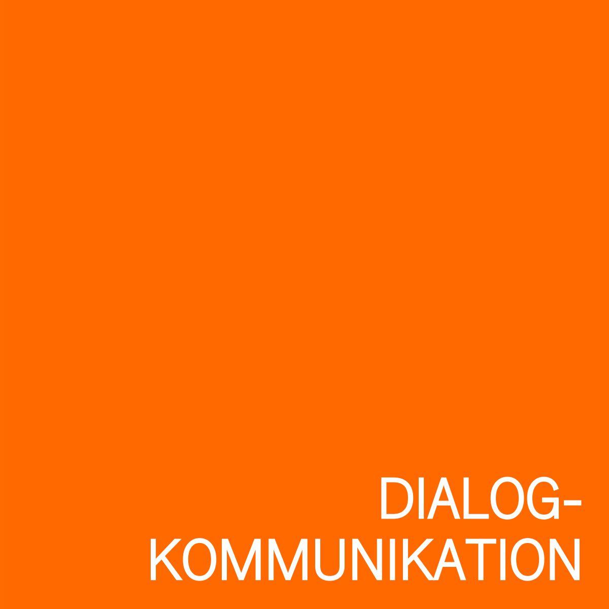 Grafik Dialog-Kommunikation
