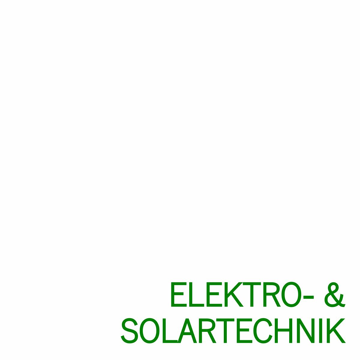 Grafik Branche Elektro- + Solartechnik