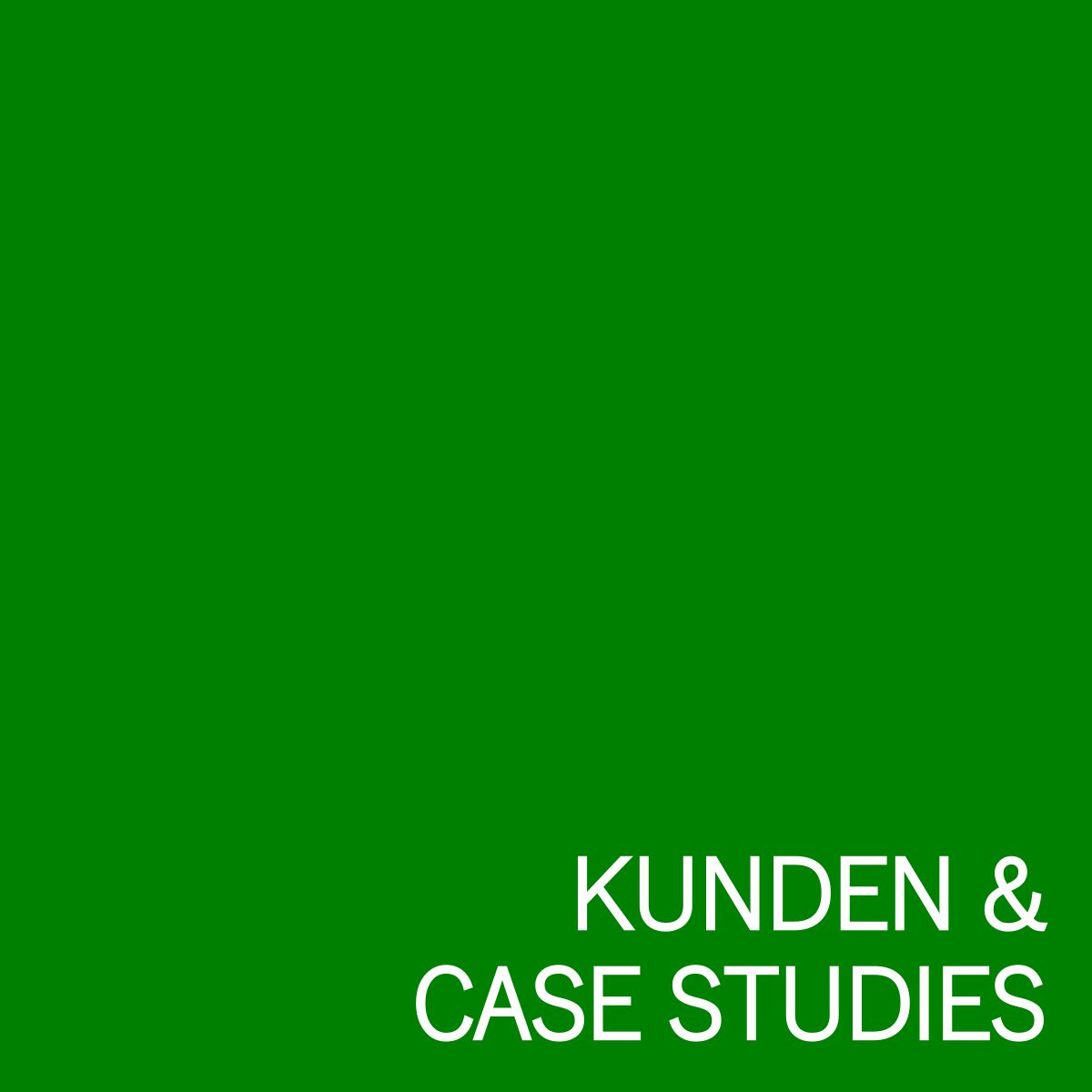 Grafik Kunden + Case Studies