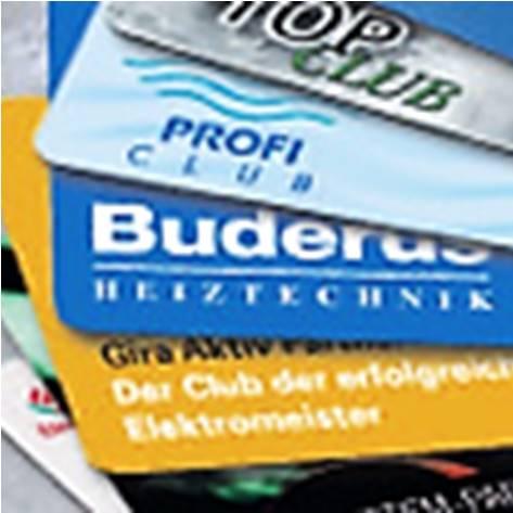 Foto diverse Kundenclubs, Vorwerk, Gira, Buderus, Grohe