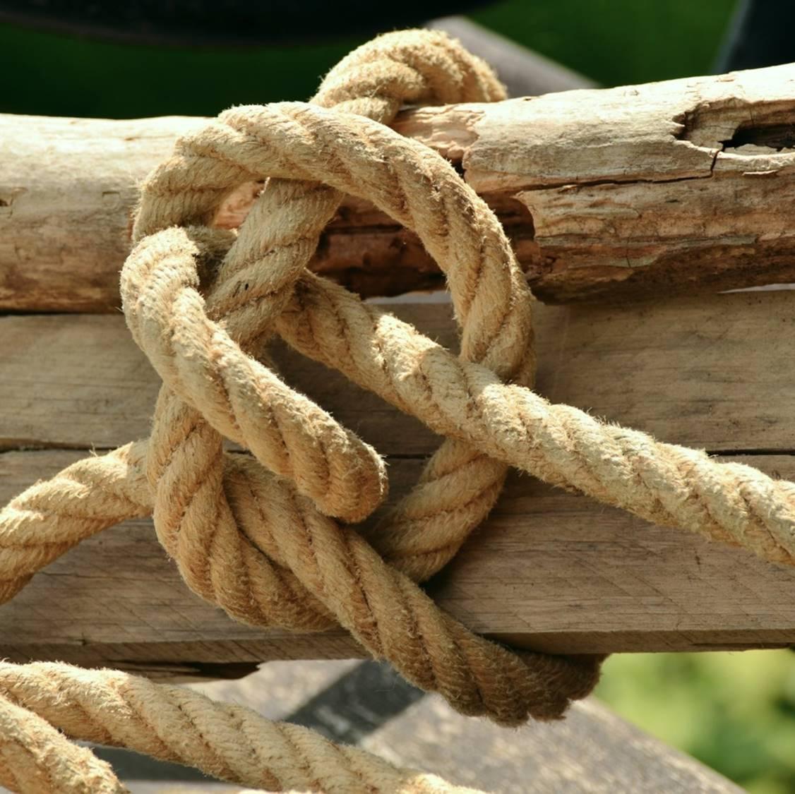 Foto Seilknoten als Symbol für Kundenbindung und Customer Loyalty